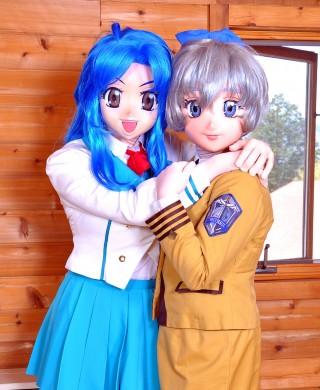 Kaname Chidori & Teletha Testarossa from Fullmetal Panic