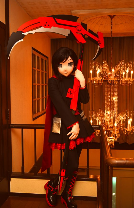 Ruby Rose@ RWBY (Photo by SatoKen)