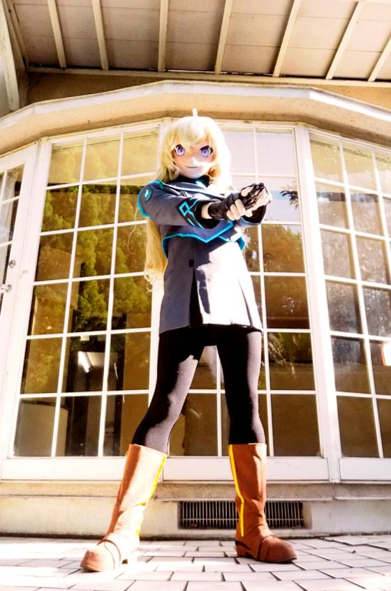 Yang Xiao Long@ RWBY (Photo by ?)